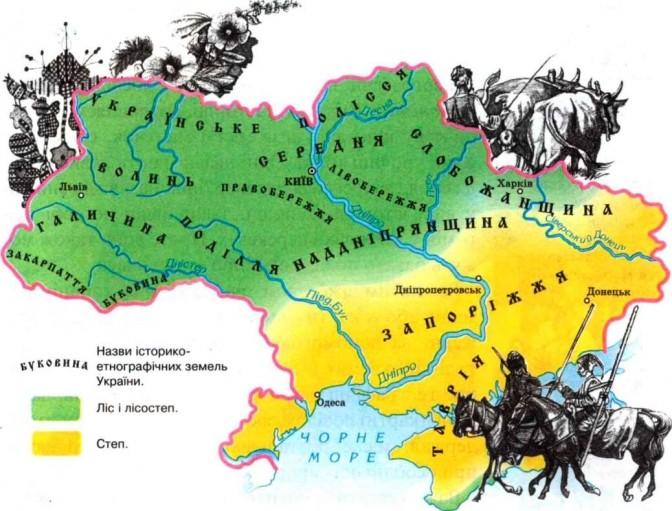 Етнографічні регіони України. Коли вони сформувалися та звідки пішли їхні назви - Переяславська міська рада